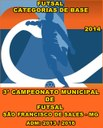 CARTAZ - CAM. MUN. DE FUTSAL - CATEGORIAS DE BASE