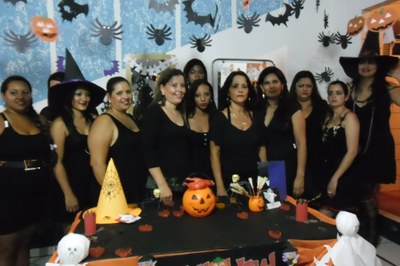 Dia do Halloween no Cras